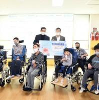 코로나19 극복을 위한 장애인복지시설 안산시 공직자 성금 전달(05.12)