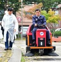 추석 맞이 깨끗한 안산 청소의 날 및 이면도로 소형 청소차 시승행사(09.09)