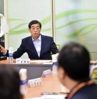 기업 SOS 이동시장실 안산테콤단지 기업인협의회 방문(08.28)