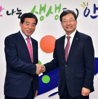 고려대학교 정진택 총장 내방(05.27)