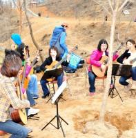 성포동 나의 라임오랜지나무 심기(3.30)