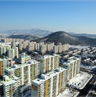 안산 시내의 의 겨울 풍경(2.1)