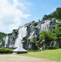 노적봉 폭포공원 풍경(08.03)