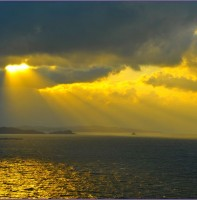 안산시화호조력발전소 티라이트 전망대에서본 풍경(11.12)