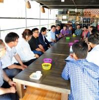 현장의 이슈를 찾아가는 만남 - 안산블루베리농장(07.16)