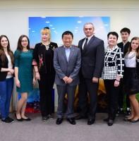 러시아 유즈노사할린스크시 예술대표단 안산시청 방문(05.07)