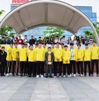 안산OK저축은행 배구단 V리그 우승기념 안산국제거리극축제 시민환영식(05.07)