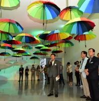 단원미술관 여름기획전 빛 소리로 물들다 오프닝 (07.17)