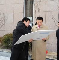 라성연립 다수인 민원관련 제일교회 공사현장 방문(01.16)
