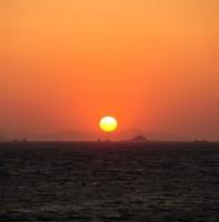 메추리섬 일몰(04.03)