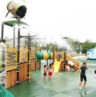 안산시 와동공원 어린이물놀이장 풍경(06.21)