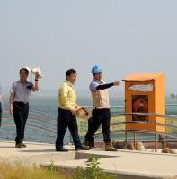 시화호 수질개선을 위한 우수토구 점검(06.12)