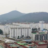 반월동 인정프린스 재건축단지 풍경(03.29)