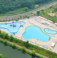 안산호수공원 야외수영장 풍경(06.23)