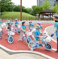 어린이 교통안전 체험장 풍경(06.27)