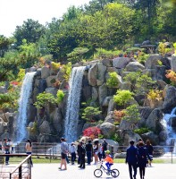 노적봉폭포공원 풍경(04.23)