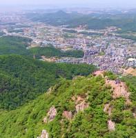 2017 안산의 봄 풍경 항공사진(06.16)
