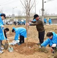 식목일 기념 나무심기 행사 (04.05)