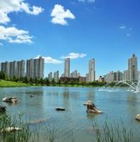 맑은날의 안산호수공원.(2010.05.27)