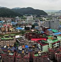 반월동 서해아파트에서본 풍경(파노라마)
