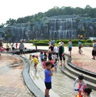 노적봉폭포공원 풍경(06.30)