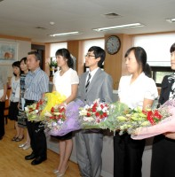 전보 및 신규자 임용장 교부(7.21)