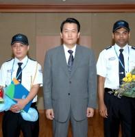 외국인 지방공무원 임용장 교부(7.30)