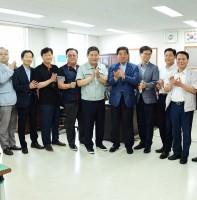 기업 SOS 이동시장실 한국노총안산시지부 방문(08.16)