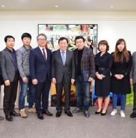 동 체육회 종목단체장 인준장 수여 (03.28)