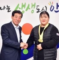 역도 박혜정선수 면담(11.06)