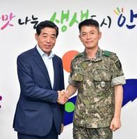 육군 제167연대 신임 연대장 취임 인사(08.05)