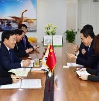국제우호협력도시 중국 연태시 외사교무판공실 대표단 방문 (12.22)