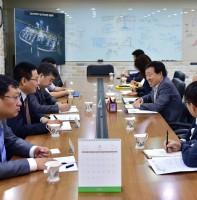 국제자매도시 중국 안산시 경제합작국 대표단 방문 (08.31)