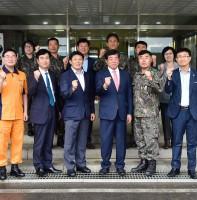 통합방위협의회 및 51사단 4대대 추석맞이 기관방문(09.21)
