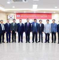 대한민국 경기도 안산시와 중화인민공화국 쓰촨성 러산시간 우호협력도시 협약체결(07.23)