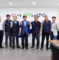 법인택시 노조위원장 안산시청 방문(08.14)