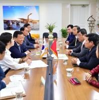 시승격30주년 시민의날 기념 초청 베트남 룽타우성 인민의회 대표단 방문 (09.30)