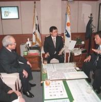 일본 미도시 대표단 방문