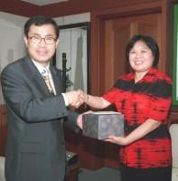 중국 안산시 여성계 대표단 방문